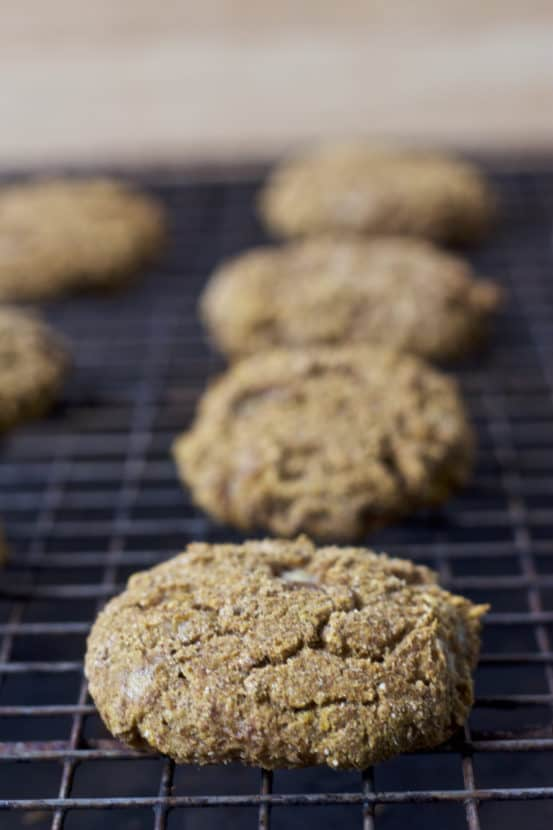 Gingerbread Muffin Tops | Healthy Helper @Healthy_Helper Soft-baked gingerbread muffin tops with all the spiced n' sweet flavor you love during the holiday season! Gluten-free, vegan, and fruit-sweetened, these are the healthiest gingerbread treats you can make. Move over gingerbread men...it's all about the muffin tops!