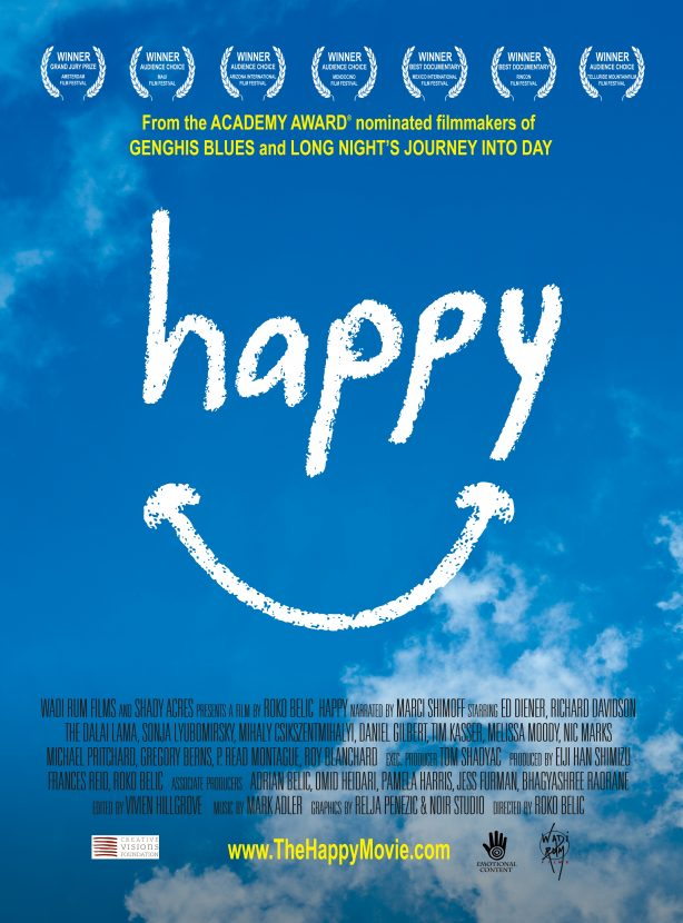 What is Happiness? | Healthy Helper Thoughts on the documentary, HAPPY, and sharing what makes me happy personally.
