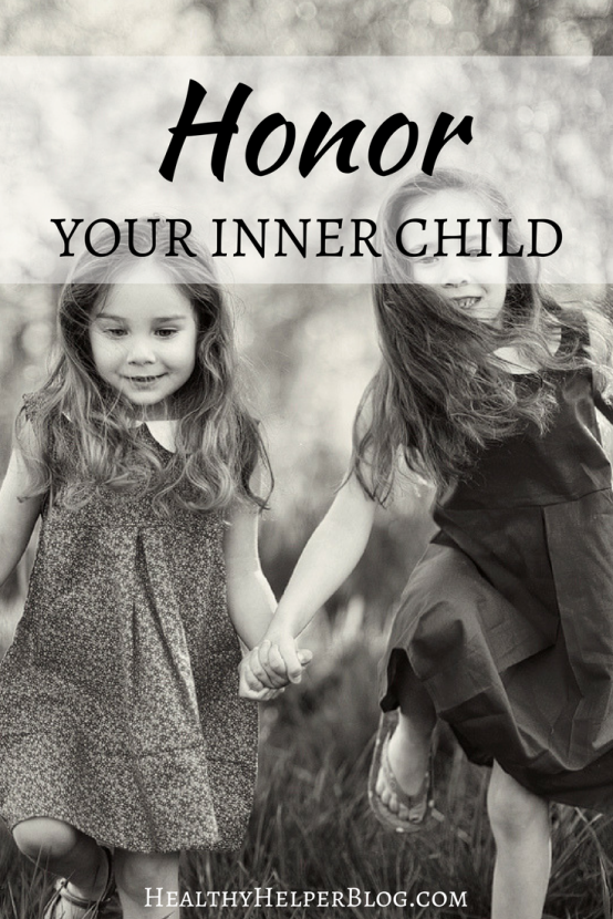 Honor Your Inner Child | Healthy Helper @Healthy_Helper A reminder to honor the small child that still lives inside you. No matter how old you grow remember who you once were and how much that person deserves to be loved!