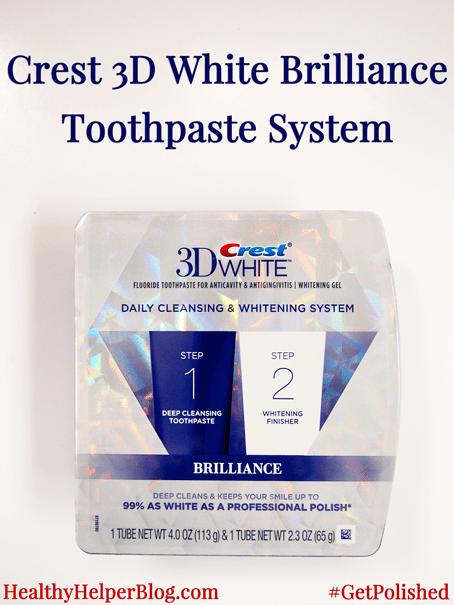 Crest 3D White Brilliance Toothpaste System