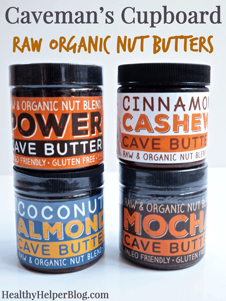 Caveman's Cupboard Raw Organic Nut Butter