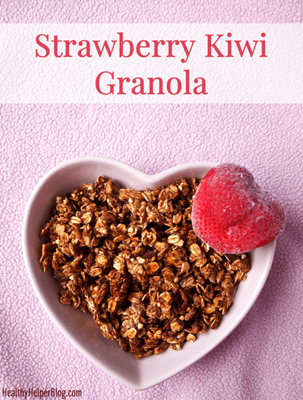 Strawberry Kiwi Granola