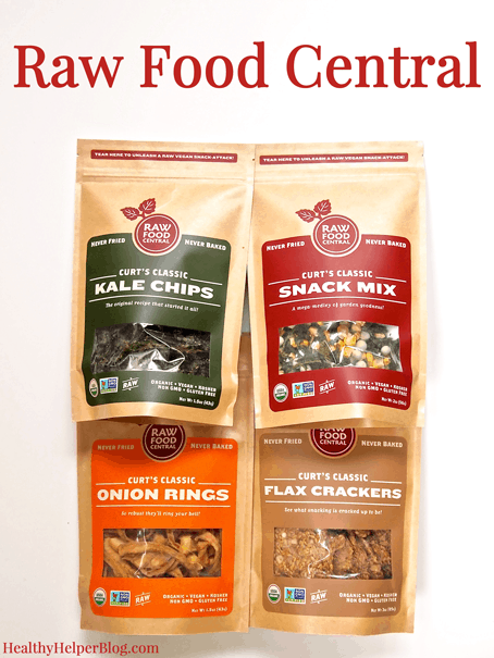 Raw Food Central Snacks