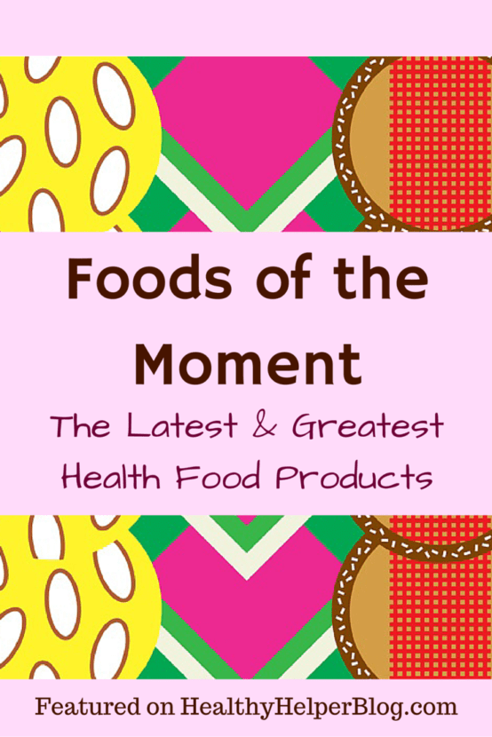 Foods of the Moment: Gluten-Free Goodies Edition on Healthy Helper Blog...a roundup of the latest and greatest health food products on the market!