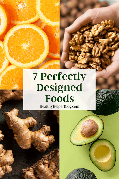 7 Perfectly Designed Foods | A roundup of 7 superfoods that LOOK like the parts of your body that they BENEFIT!