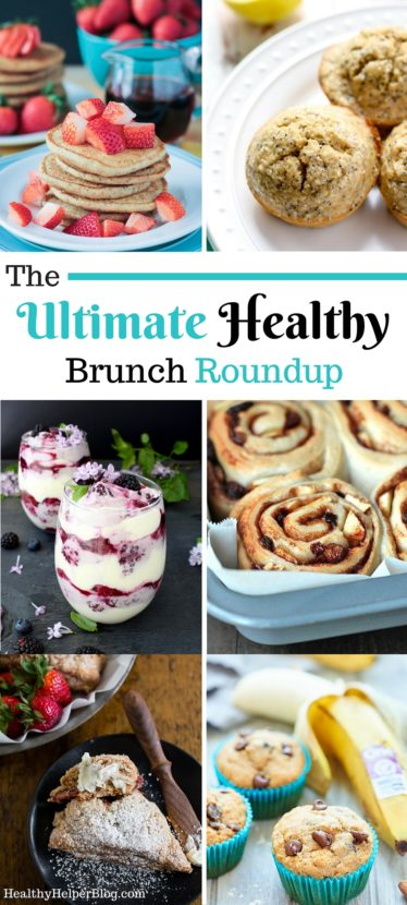 The Ultimate Healthy Brunch Recipe Roundup from Healthy Helper....healthy, delicious dishes and treats that your whole brunch crowd will love! Gluten-free, vegan, and paleo options for all! https://healthyhelperkaila.com?utm_source=utm_source%3DPinterest&utm_medium=utm_medium%3Dsocialmedia&utm_campaign=utm_campaign%3Dblogpost