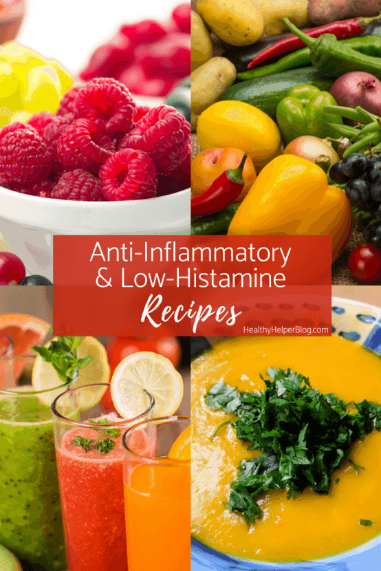 Anti-Inflammatory and Low-Histamine Recipes | A collection of anti-inflammatoryand low-histamine recipesto get you through allergy season!