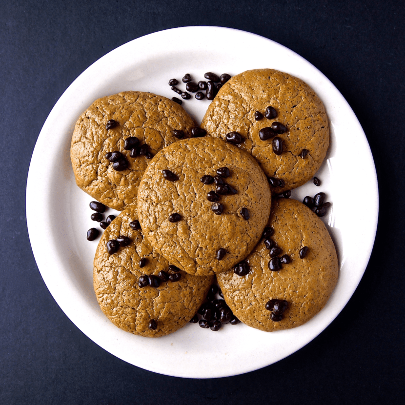 Chocolate Zucchini Protein Cookies