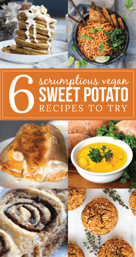 6 Scrumptious Vegan Sweet Potato Recipes to Try | Healthy Helper @Healthy_Helper