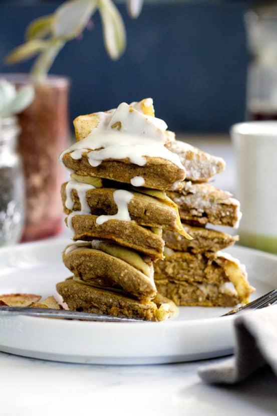 Sweet Potato Pancakes | Healthy Helper @Healthy_Helper