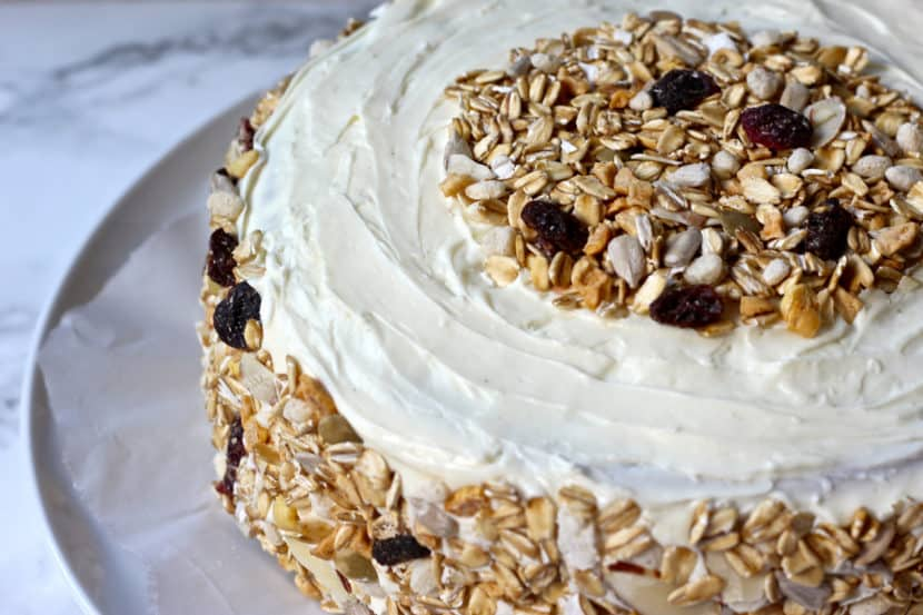 Pumpkin Spice Walnut Cake | Healthy Helper @Healthy_Helper