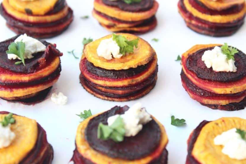 Roasted Sweet Potato and Beet Snack | Healthy Helper @Healthy_Helper