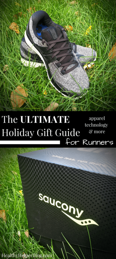 The Ultimate Holiday Gift Guide for Runners | Healthy Helper @Healthy_Helper Your go-to buying guide for picking out the perfect holiday gift for the runner in your life! Male or female, old or young, new to running or a veteran pavement pounder...this list has something for everyone! All the coolest tech, gadgets, gear, and fuel needed for a healthy & happy running career.