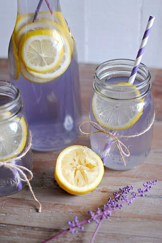 Lavender Lemonade | Healthy Helper @Healthy_Helper