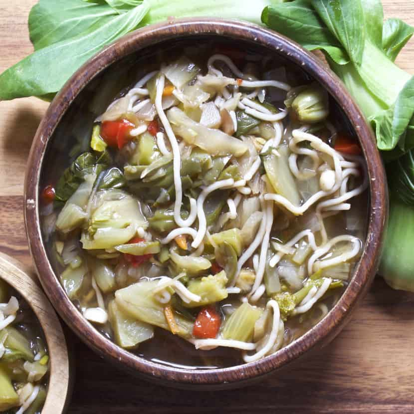 Vegan Chinese 5 Spice Noodles Soup | Healthy Helper @Healthy_Helper