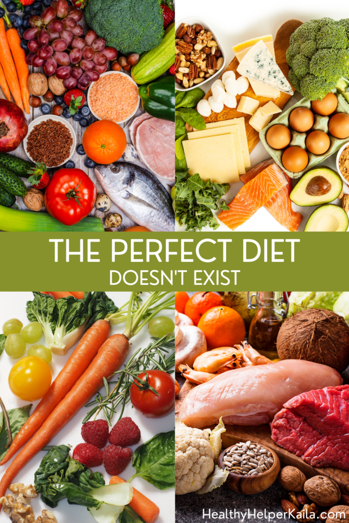 The Perfect Diet Doesn't Exist | A discussion on popular diet trends. While no diet is perfect, there are positive aspects that you can pull from each one to shape your own dietary choices with.
