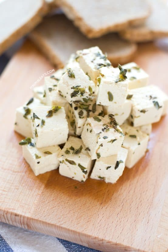 Tofu Feta Cheese | Healthy Helper @Healthy_Helper