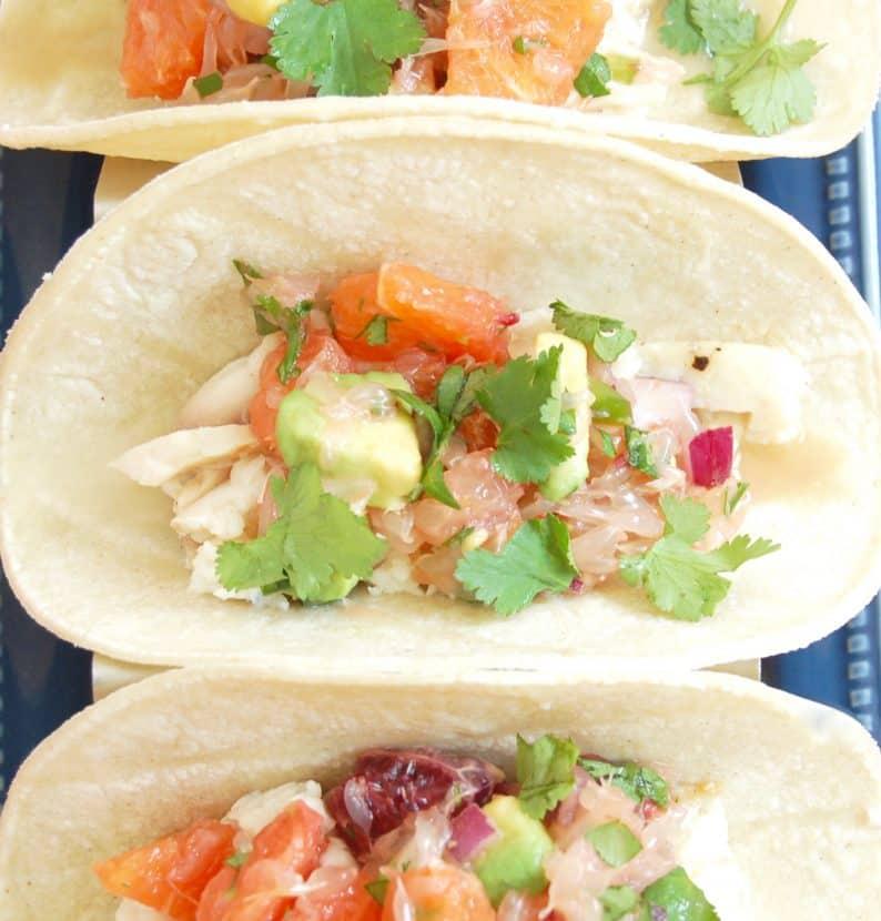 Fish Tacos with Citrus Salsa   Healthy Helper @Healthy_Helper
