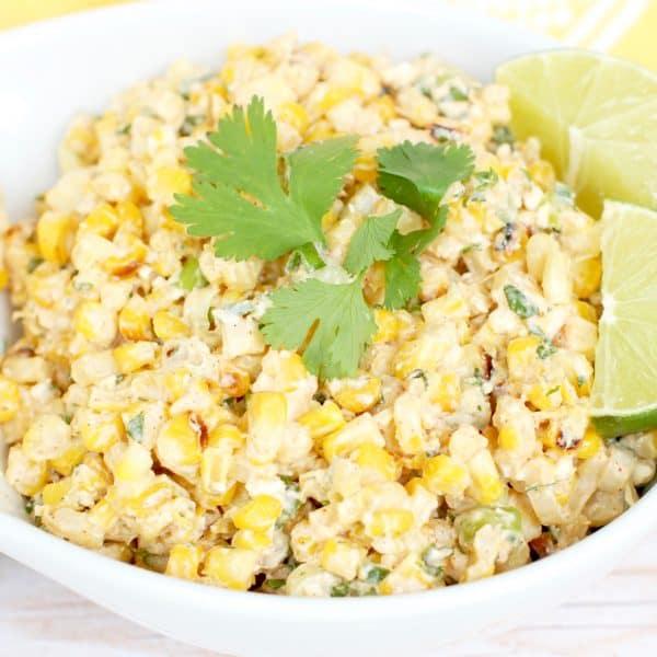Mexican Street Corn Salad   Healthy Helper @Healthy_Helper