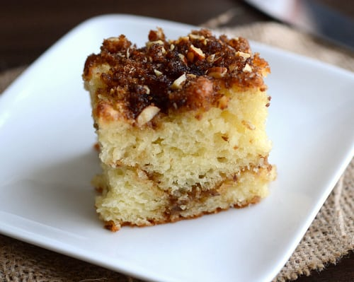 Skinny Coffee Cake | Healthy Helper @Healthy_Helper