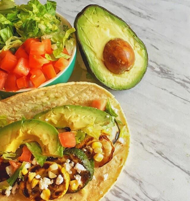 Grilled Zucchini Tacos   Healthy Helper @Healthy_Helper