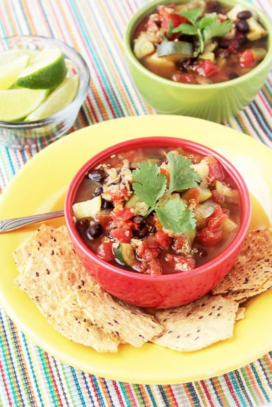 GF Vegetable and Quinoa Soup   Healthy Helper @Healthy_Helper