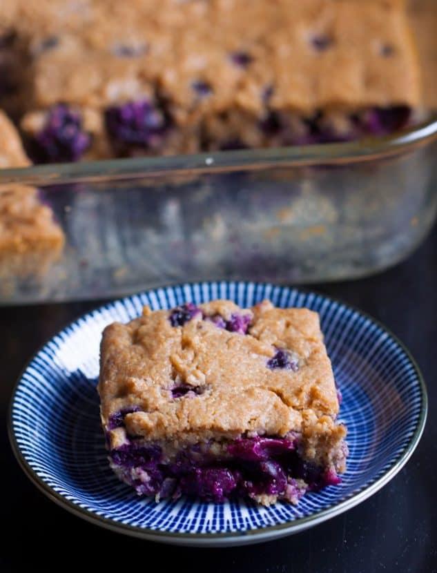 Blueberry Sour Cream Coffee Cake | Healthy Helper @Healthy_Helper