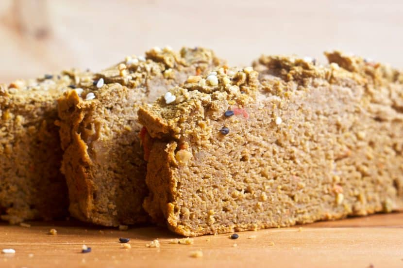 Savory Banana Flour Breakfast Bread | Healthy Helper