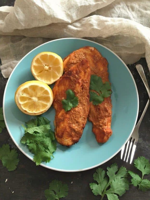 Greek Yogurt Paprika Chicken | Healthy Helper @Healthy_Helper