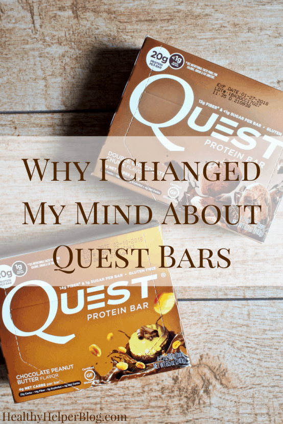 Why I Changed My Mind About Quest Bars | Healthy Helper @Healthy_Helper