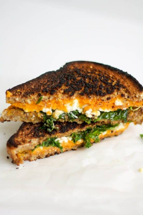 Feta Grilled Cheese | Healthy Helper @Healthy_Helper