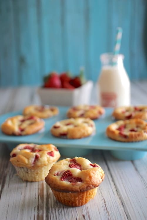 Strawberry Shortcake Muffins | Healthy Helper @Healthy_Helper