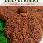 Cheesy Italian Bean Burgers | Healthy Helper @Healthy_Helper A cheesy, savory spin on classic plant-based patties! These perfectly spiced bean burgers are full of flavor, vegan, and gluten-free. They're also low-fat and low-cal! A great option for a meatless family meal!