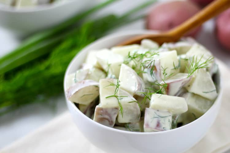 Herby Potato Salad | Healthy Helper @Healthy_Helper