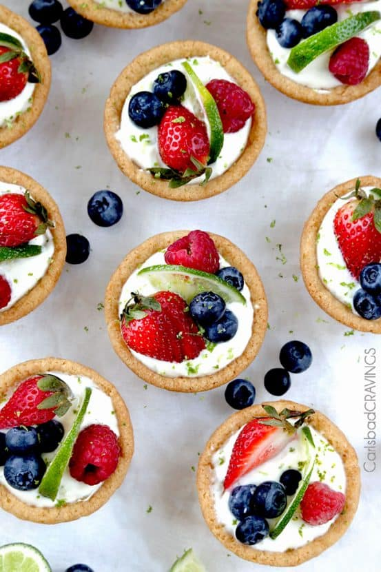 Easy Key Lime Cookie Cups | Healthy Helper @Healthy_Helper