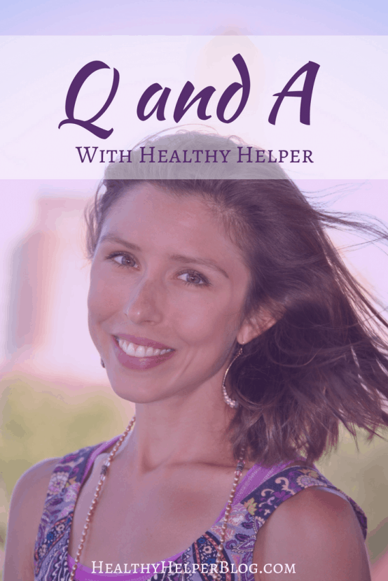 "Q and A with Healthy Helper | Healthy Helper @Healthy_Helper A ""get to know the girl"" behind Healthy Helper Q and A post with questions from readers and followers all across the world! Read on to learn more about me and my life."
