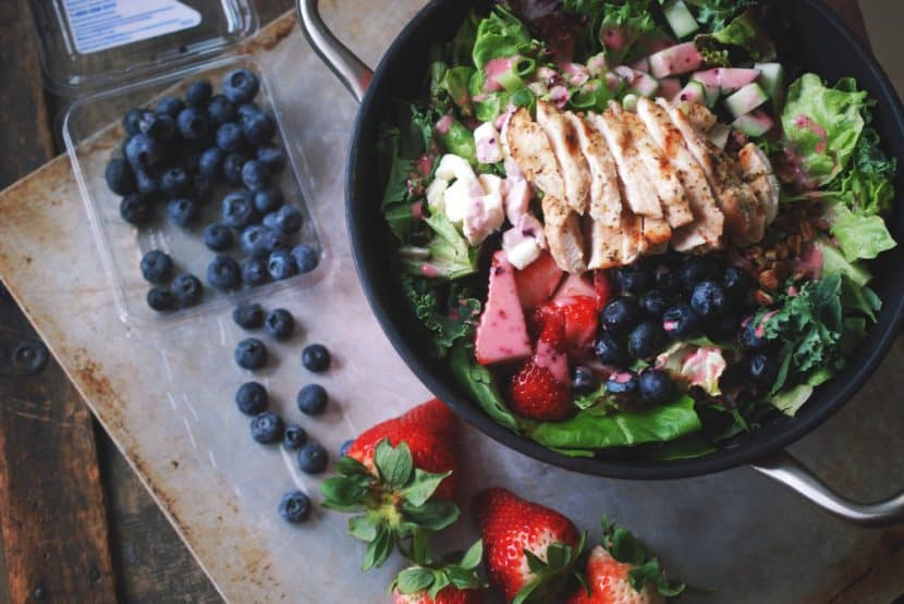 Grilled Chicken and Berry Salad | Healthy Helper @Healthy_Helper