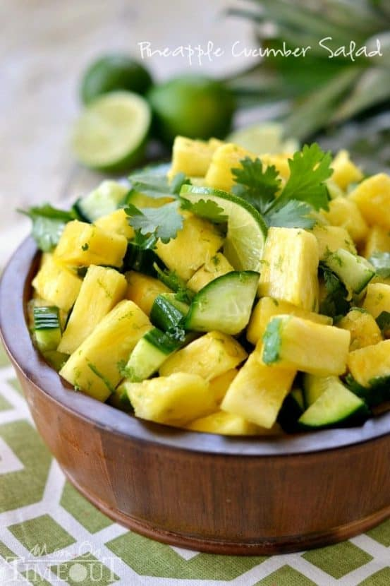 Pineapple Cucumber Salad | Healthy Helper @Healthy_Helper