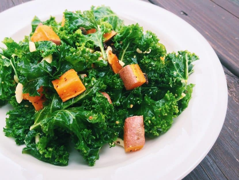 Kale and Sweet Potato Salad | Healthy Helper @Healthy_Helper