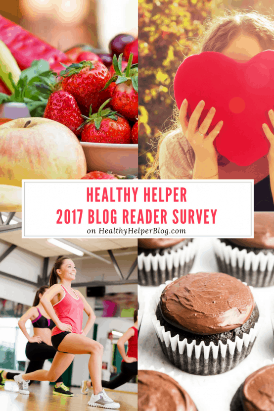 Healthy Helper 2017 Blog Reader Survey   Healthy Helper @Healthy_Helper An end of year reader survey to get feedback on the blog and gain insight on where it will go in 2018!