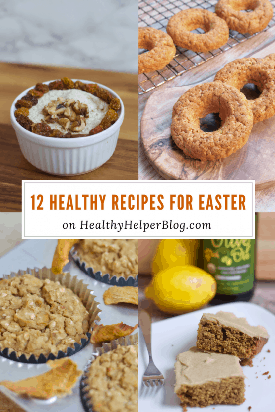 12 Healthy Recipes for Easter | Healthy Helper @Healthy_Helper A roundup of healthy, sweet treats to enjoy with your family during the Easter season! Spring-inspired desserts and snacks that will get you in the mood for the change of seasons.