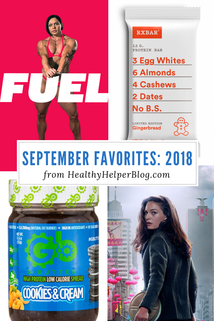 September Favorites: 2018   Healthy Helper A roundup of my current favorite products, links, and things from around the web! Check out the list and find some new things to try for yourself.