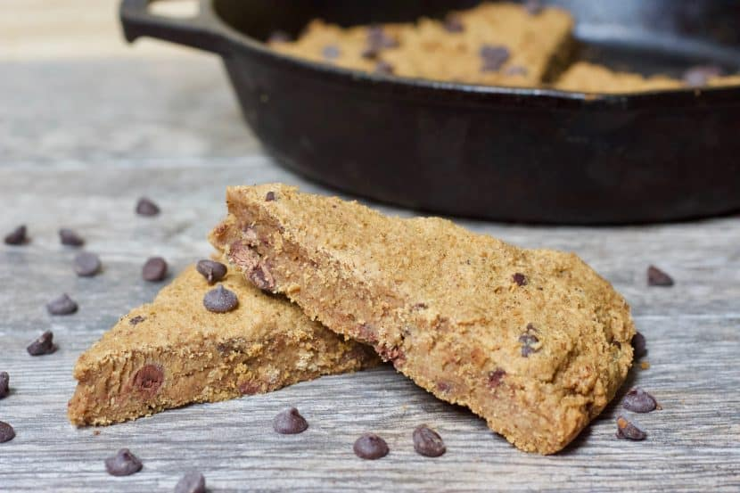 Healthy Chocolate Orange Scones | Soft, whole grain scones flavored with a delicious combo of fresh orange and chocolate! A treat healthy enough for breakfast and sweet enough to satisfy your dessert cravings. Vegan, gluten-free, and fruit-sweetened!