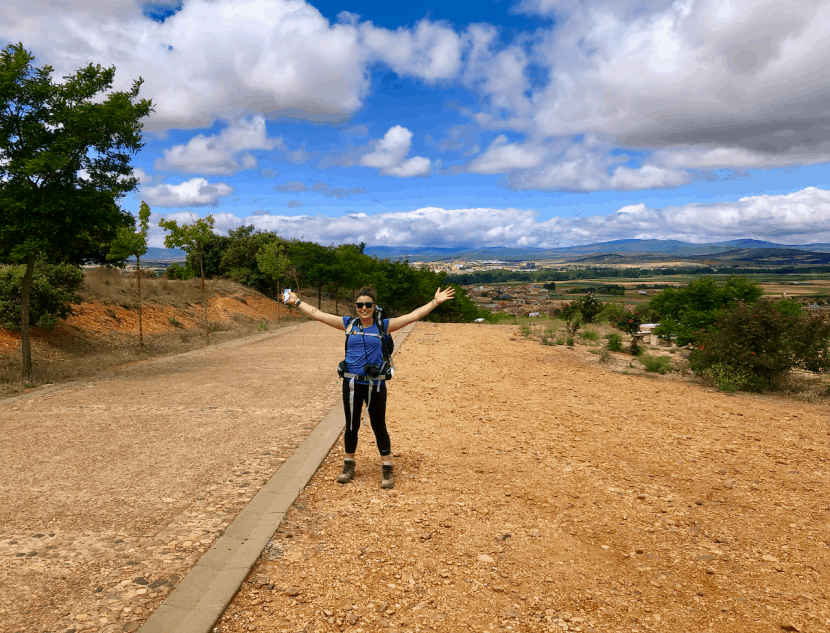 #HealthyHelperTravels: My Camino Experience | A recap of my experience trekking across Spain on the Camino Frances, the French Way, to Santiago de Compostela! Thoughts, feelings, and takeaways from the journey.