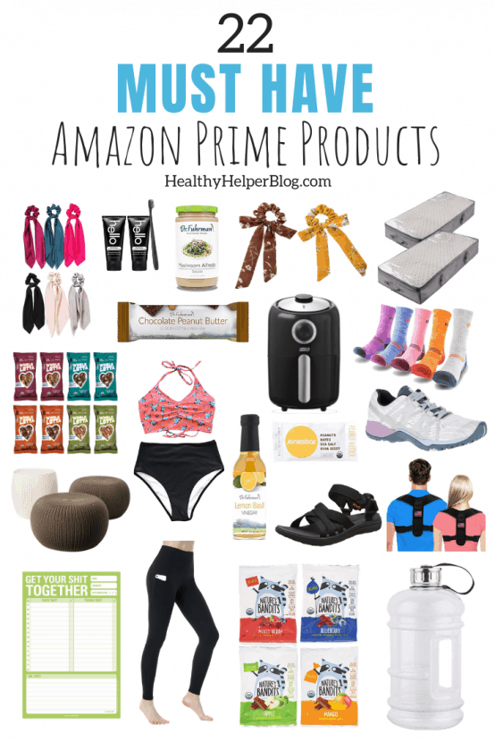 22 MUST HAVE Amazon Prime Products | A roundup of MUST HAVE products from Amazon Prime. Great deals and steals just in time for Prime Day!
