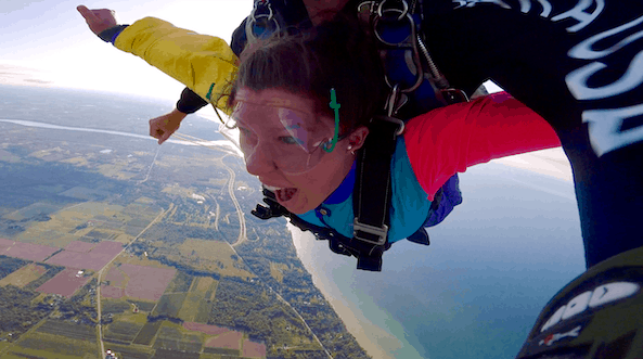 Explore Your Own Backyard: Skydive the Falls | A FULL recap of my skydiving experience at Skydive the Falls, a new local skydiving company that is the first in the world to offer aerial views of Niagara Falls!