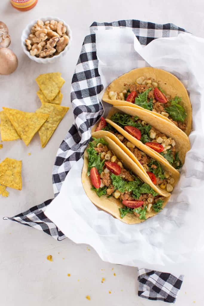 17 Healthy Taco Recipes   A roundup of 17 healthy, delicious taco recipes to enjoy on National Taco Day...or any day! Vegan, vegetarian, and meaty recipes for everyone.