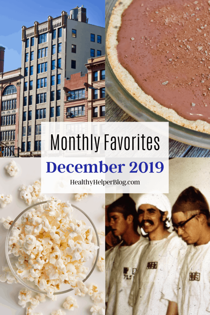 Monthly Favorites: December 2019 | A roundup of my current favorite products, links, and things from around the web! Check out the list and find some new things to try for yourself.