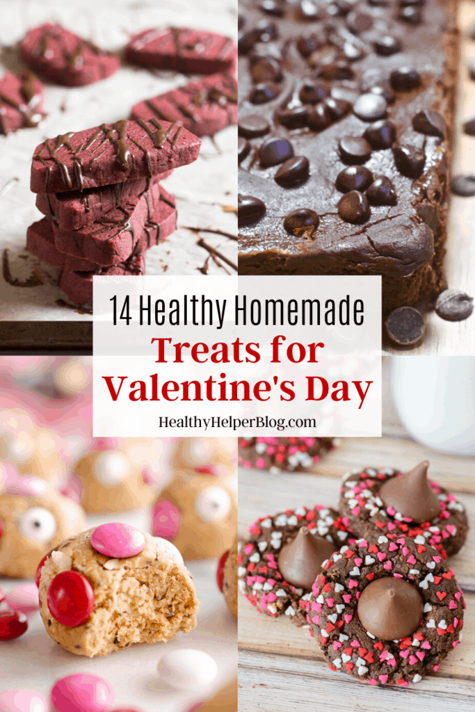 14 Healthy Homemade Treats For Valentines Day | A round up of healthy, homemade treats to make and enjoy for Valentine's Day! Festive treats that are also GOOD for you.