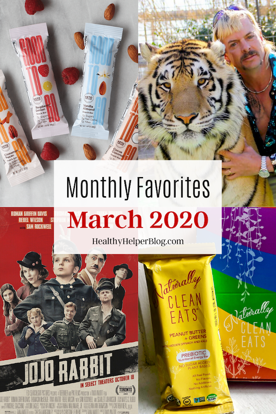 Monthly Favorites: March 2020 | A roundup of my current favorite products, links, and things from around the web! Check out the list and find some new things to try for yourself.